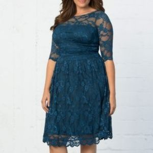 Kiyonna Luna Lace Dress 4x